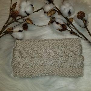 Accessories - Beautiful Herringbone ear warmer head wrap